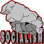 Stone Fist Smashing Socialism