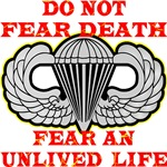 Army Airborne; Do Not Fear Death