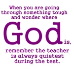 Teacher Quietest During Test