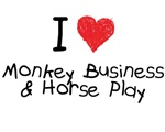 Monkey Business Horse Play