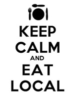 Keep Calm and Eat Local