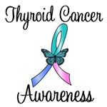 Thyroid Cancer Awareness Ribbon T-Shirts & Gifts