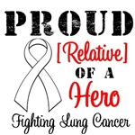 Proud of the Heroes Fighting Lung Cancer Shirts
