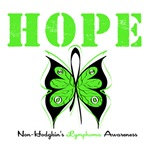 Non-Hodgkin's Lymphoma Butterfly Shirts & Gifts