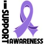 I Support Hodgkin's Lymphoma Awareness Shirts