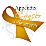 Appendix Cancer Awareness Shirts and Gifts