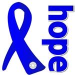 Hope Ribbon Colon Cancer Shirts and Gifts