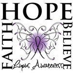 Hope Tattoo Butterfly Lupus