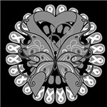 Brain Cancer Butterfly Shirts and Gifts