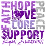 Collage Hope Cure Lupus Shirts and Gifts