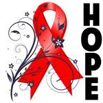 Hope Ribbon Heart Disease Shirts and Gifts