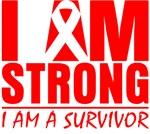 I am Strong Blood Cancer Shirts