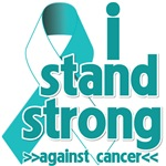 I Stand Strong Against Cervical Cancer Shirts