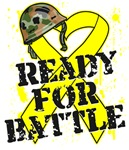 Ready For Battle Testicular Cancer Shirts