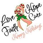 Holiday Hope Uterine Cancer Shirts