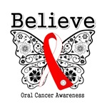 Believe - Oral Cancer Shirts and Gifts
