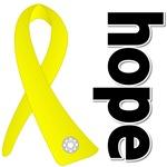 Hope Yellow Ribbon Ewing Sarcoma Shirts and Gifts
