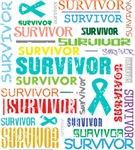 Survivor Ovarian Cancer Shirts and Gifts