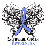 Butterfly Floral Esophageal Cancer Shirts