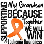 Supporting My Grandson Leukemia Shirts and Gifts