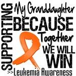 Supporting My Granddaughter Leukemia Shirts