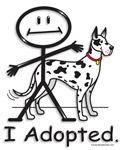 Dogs-Great Dane (harlequin)