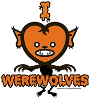 Werewolves T-shirts