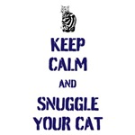 Keep Calm & Snuggle Your Cat