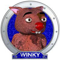 Winky's Blue Portrait