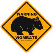 Warning Wombats