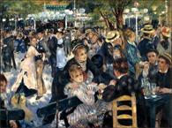 Renoir's Dance at Le moulin de la Galette