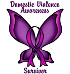 Domestic Violence Awareness Purple ButterFly