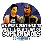 Troy & Abed Superheroes