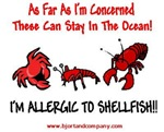 Shellfish Allergy T-Shirts/Accessories