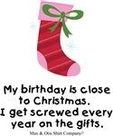 Born close to Christmas
