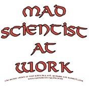 Mad Scientist at Work T-shirts & Gifts