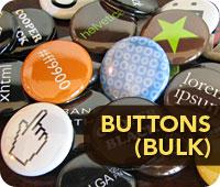 Graphic Design Pinback Buttons (Bulk)