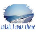 Blue Ocean/Wish I Was There Beach Scene