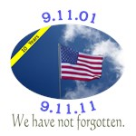 9-11 10 Year Anniversary Commemorative Design