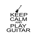 Keep Calm Play Guitar (Electric Carry On Parody)