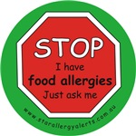STOP I have food allergies Just ask me-allergy ale