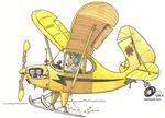 Cub Ski-Plane