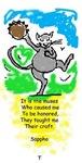 Tinkerbelle the dancing cat