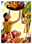 Hawaiian Fruit Harvest