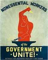 Nonessential Workers of the Government Unite