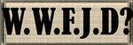 Foobie Jesus - WWFJD?