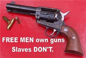 Free Men Own Guns