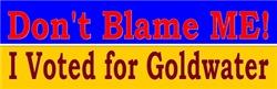 Don't Blame Me!