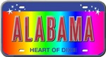 Rainbow State Plates