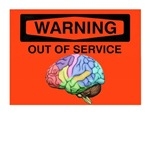WARNING out of service brain